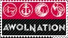 Awolnation stamp by GoferyIDzemor