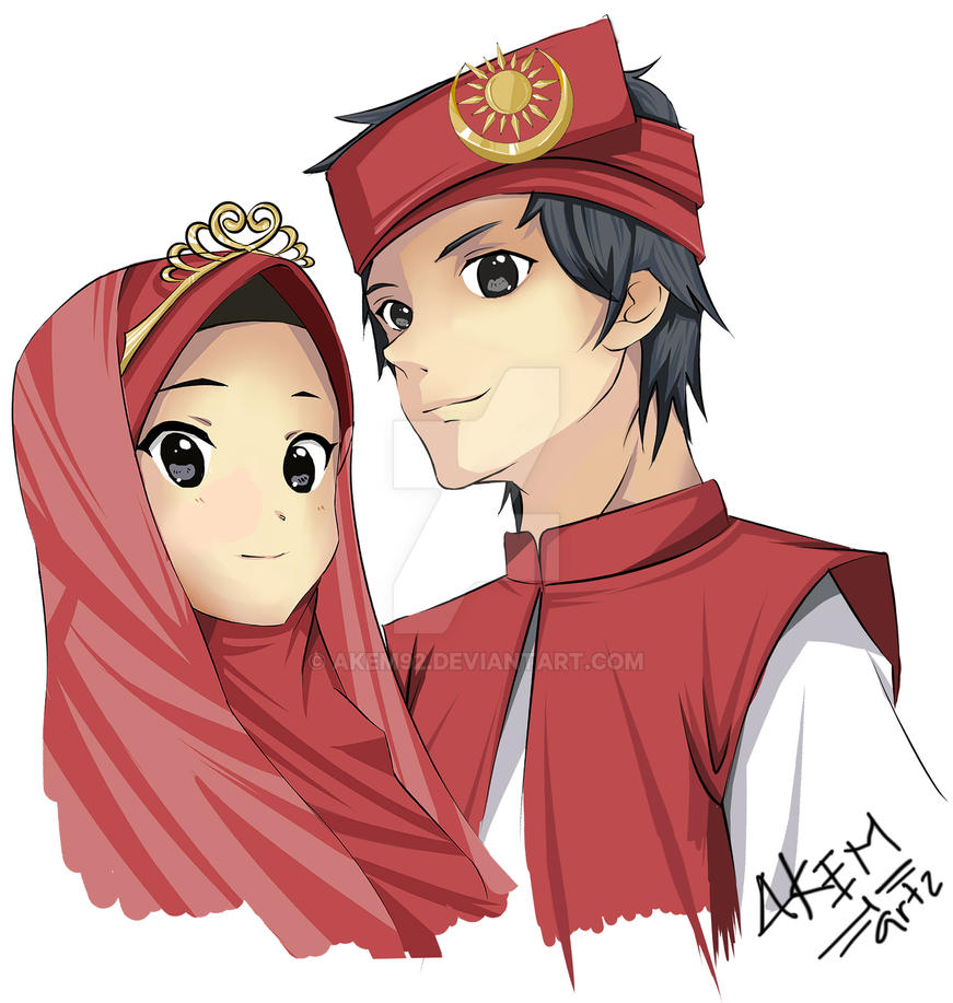 Wedding Anime Malay Islamic Version By Akem92
