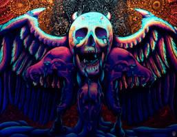 Melting Skulls Part 2 (2017)