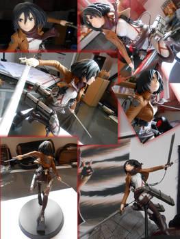 Figurine: Misaka de shingeki no kyojin