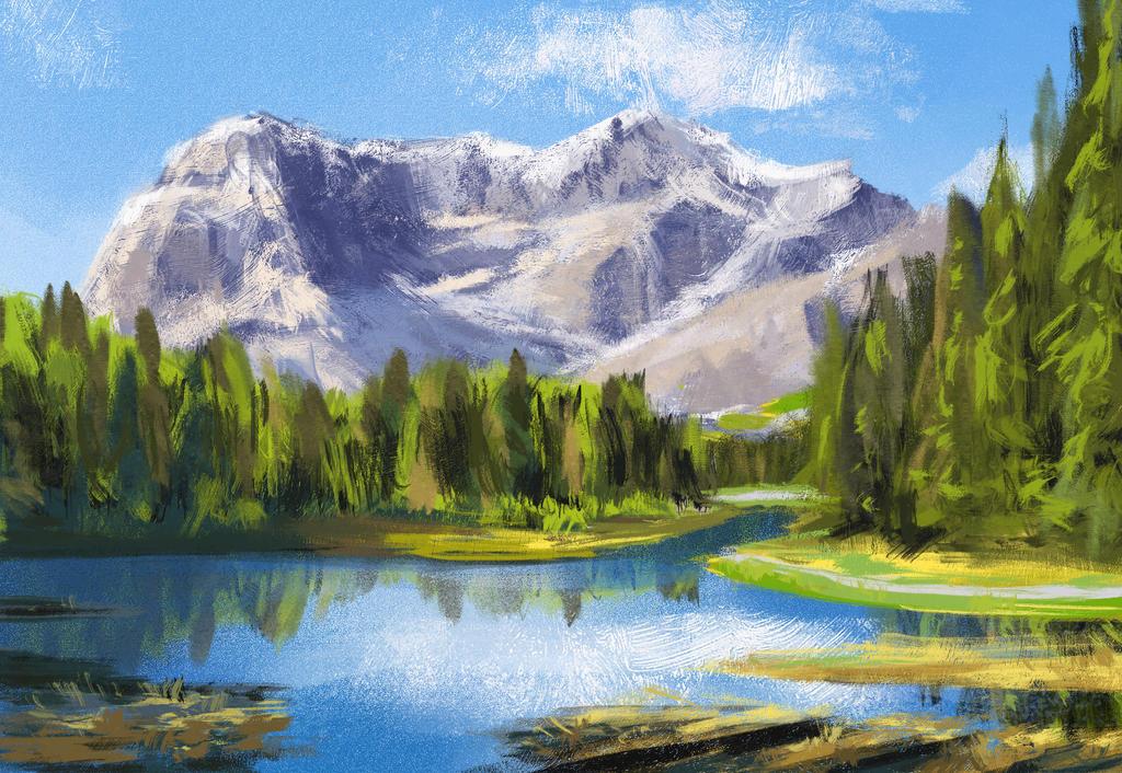 Landscape Study 2 by knotty02