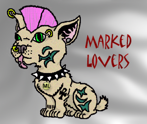 Our mascot by invader pichu by marked-lovers