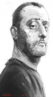 Face of a professional_ Jean Reno