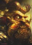 The dwarf Master