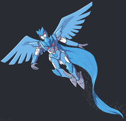 Maximal Pokeformer: Articuno by GL-of-Cybertron