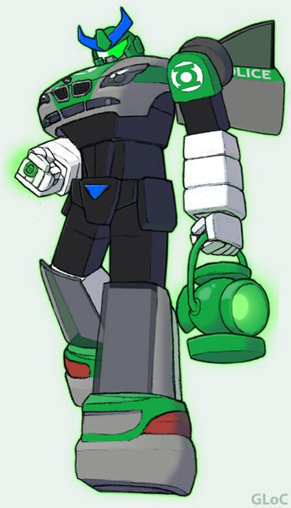Green Lantern of Cybertron