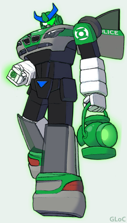 Green Lantern of Cybertron by GL-of-Cybertron