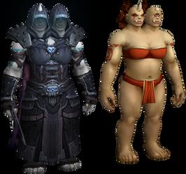 New Ogre Female Model for World of Warcraft