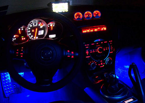 RX 8 Interior At Night By Lewmorris ...