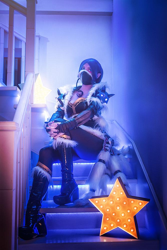Winter Wolf Lanaya cosplay by cibo-black-cat