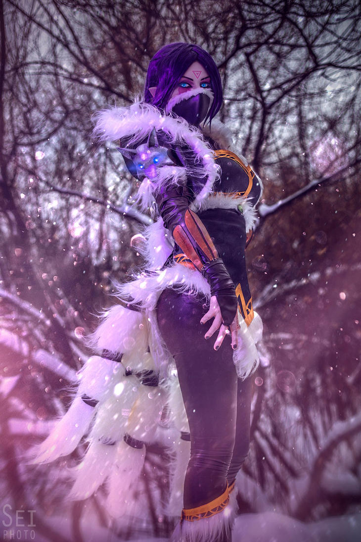 Winter Wolf Lanaya by cibo-black-cat