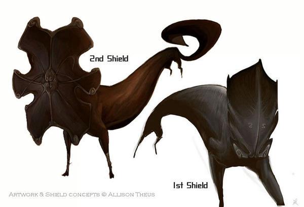 Shields by beastofoblivion