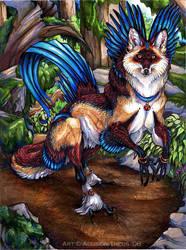 Forest Fox by beastofoblivion