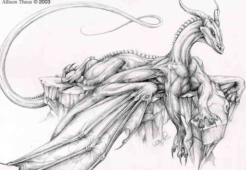 chill dragon by beastofoblivion