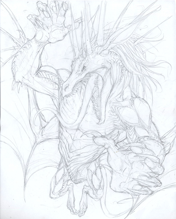 Izixs WIP - Pencils by beastofoblivion