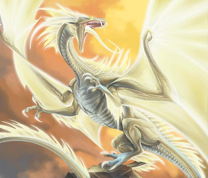 Celestial Dragon by beastofoblivion