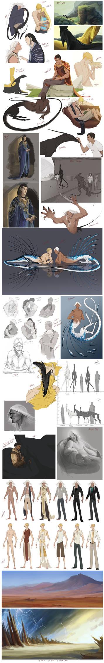 Character Sketchdump 5
