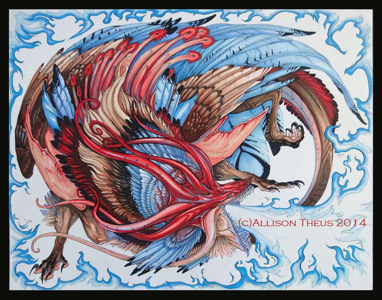 Octo-Turkey Wolf by beastofoblivion