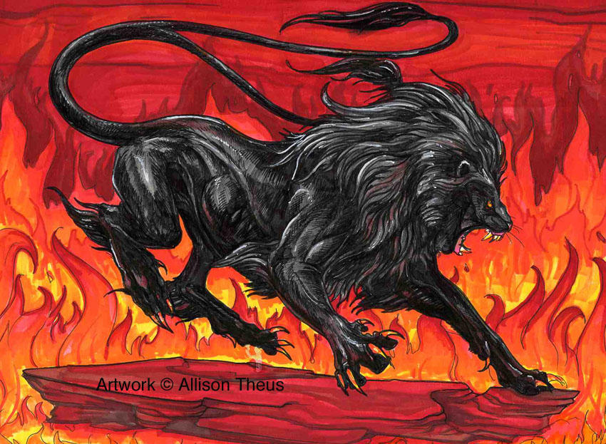Lion Beast by beastofoblivion