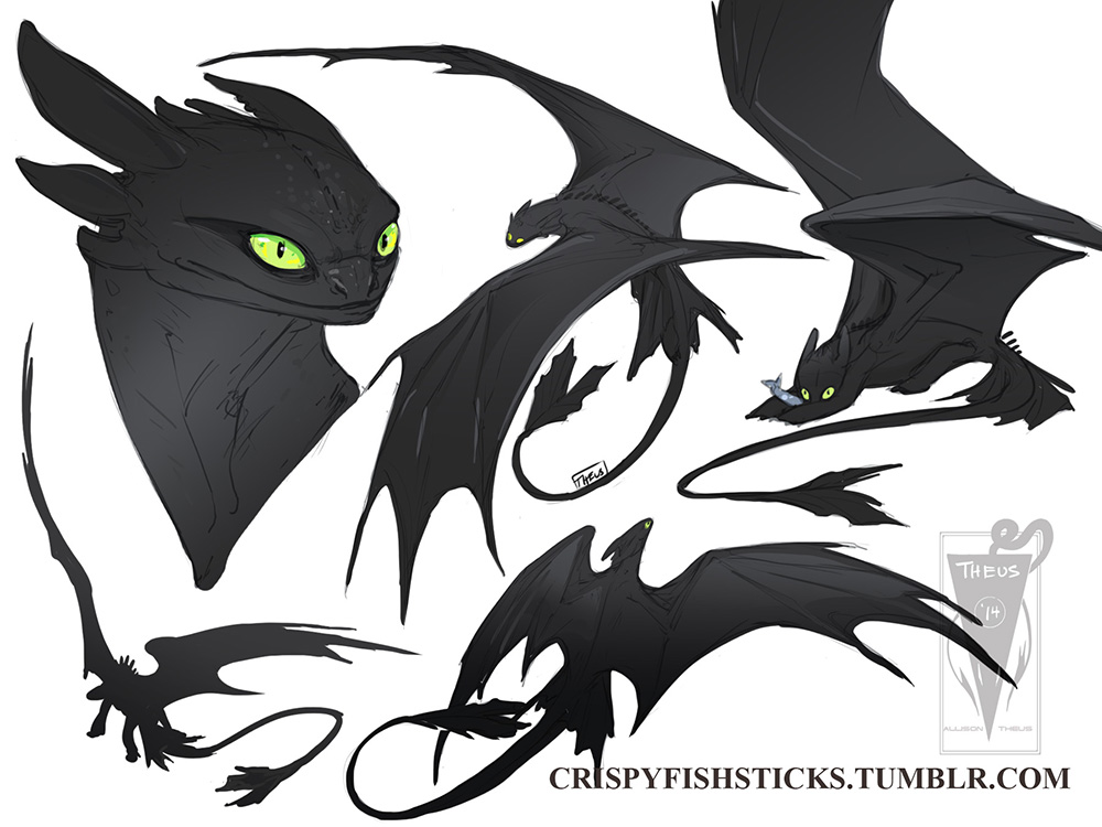 Night Fury by beastofoblivion