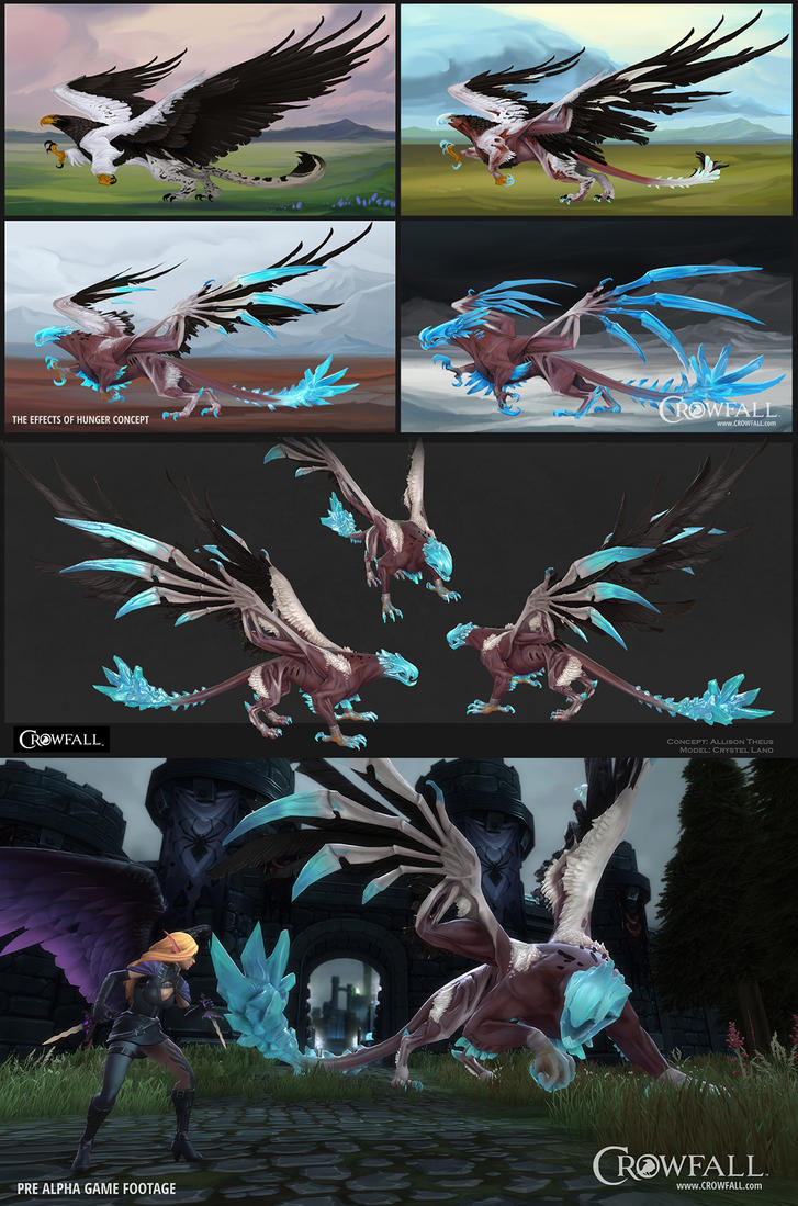 Concept to In-Game: Fall Gryphon by beastofoblivion