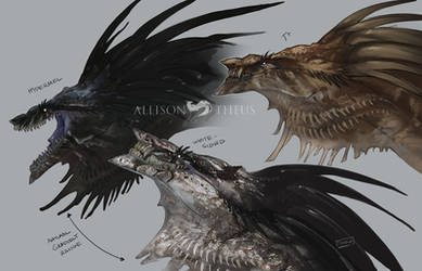 Ray Dragon Phenotypes by beastofoblivion