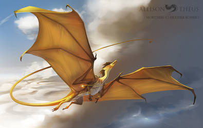 Morithias - Time Dragon by beastofoblivion