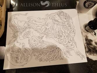 Roaring Lion by beastofoblivion