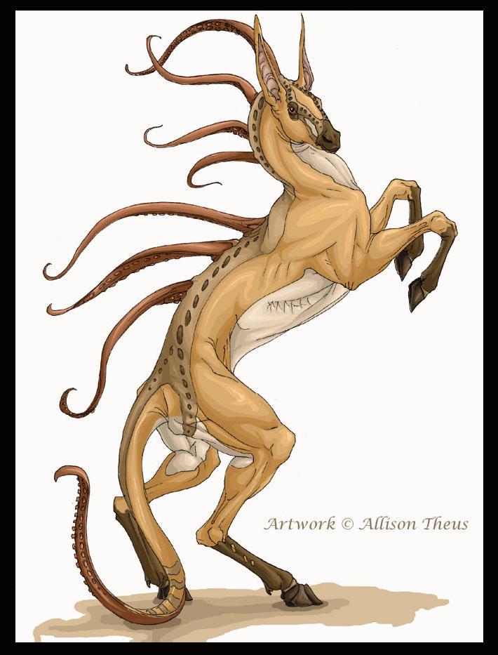 Ellison Creature by beastofoblivion