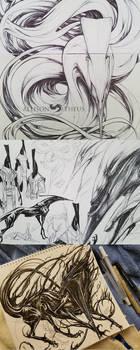 Lock Sketches by beastofoblivion