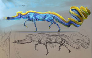 Eel Horse by beastofoblivion