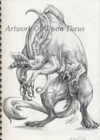 Mystery Beast by beastofoblivion