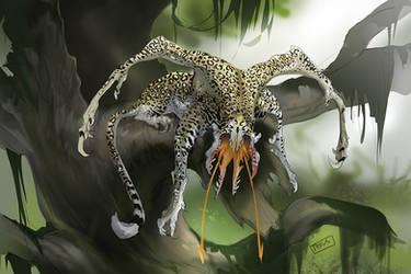 Funky Leopard by beastofoblivion