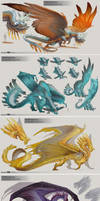 MCDM Productions: Gem dragons