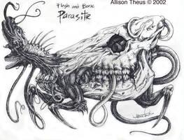 Flesh and Bone Parasite by beastofoblivion