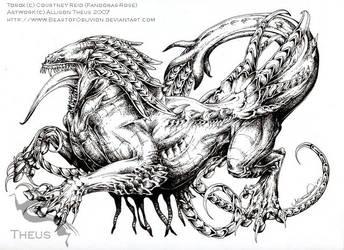 Tarox - Commission by beastofoblivion