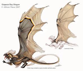 Emperor Ray Dragon by beastofoblivion