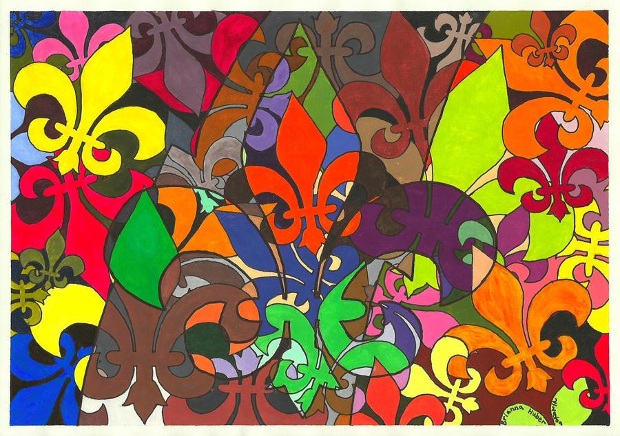 Fleur-de-lis by AnmlBri