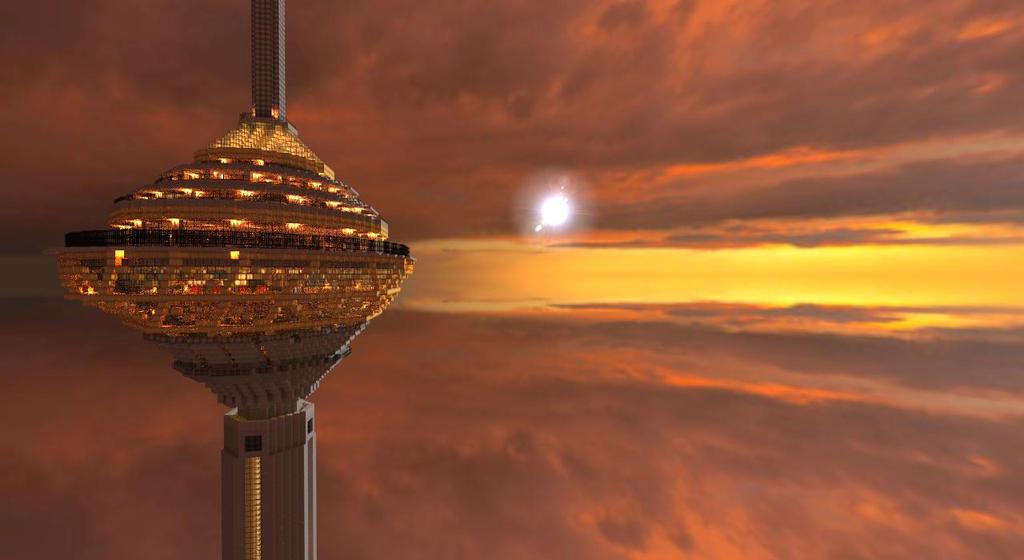 Tower of Milad R by Xoyjaz