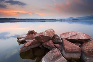 Varese Lake Sunset