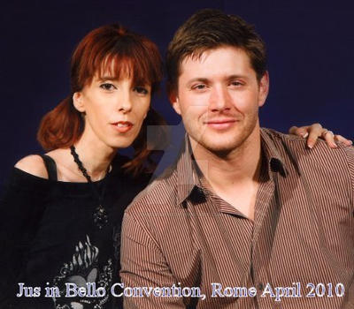 Me and Jensen at JiB Con by LoneGrimoir