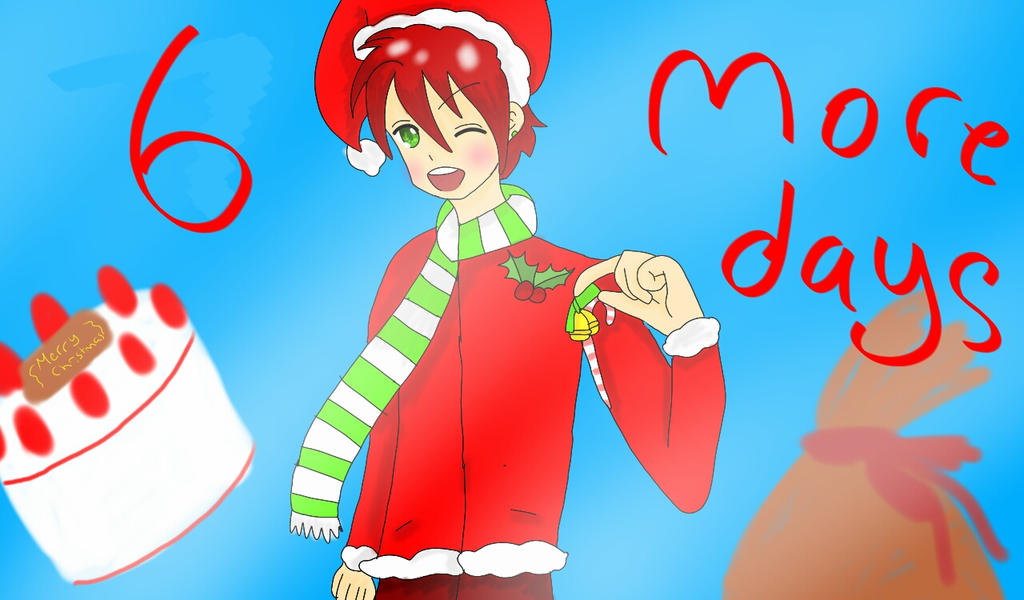 6 more days till christmas by RimaChan13 on DeviantArt