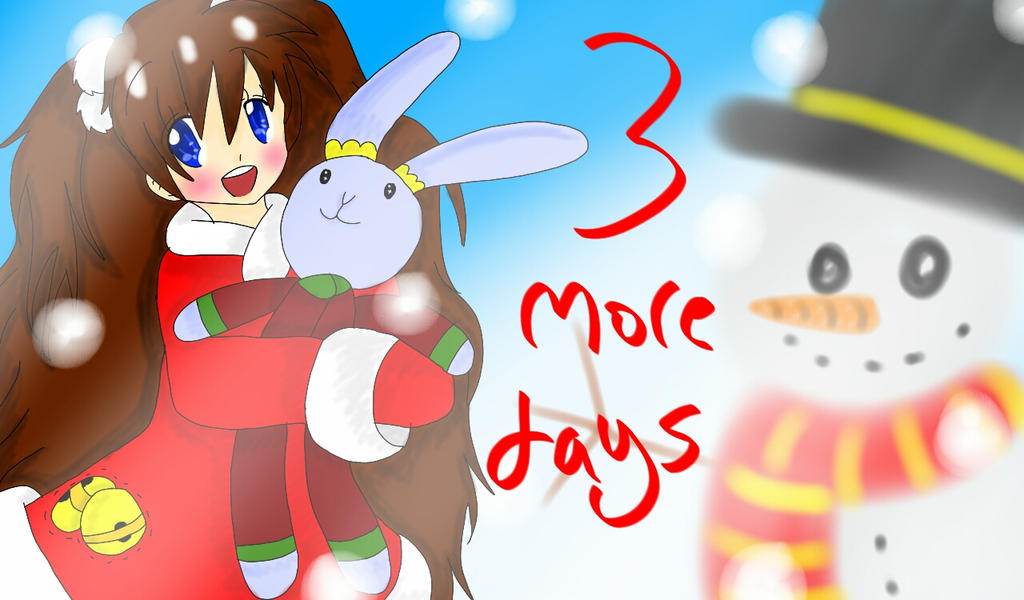 3 more days till christmas by rimachan13 - How Many More Days Until Christmas 2014