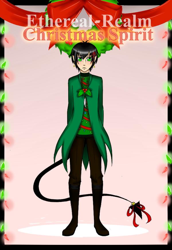 ER: ChristmasSpiritMeme-Magnus by LeMinouBrunes