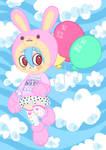 crazy bunny girl...