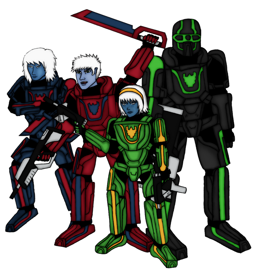 Omega Squad 2012 by roberto-ryan
