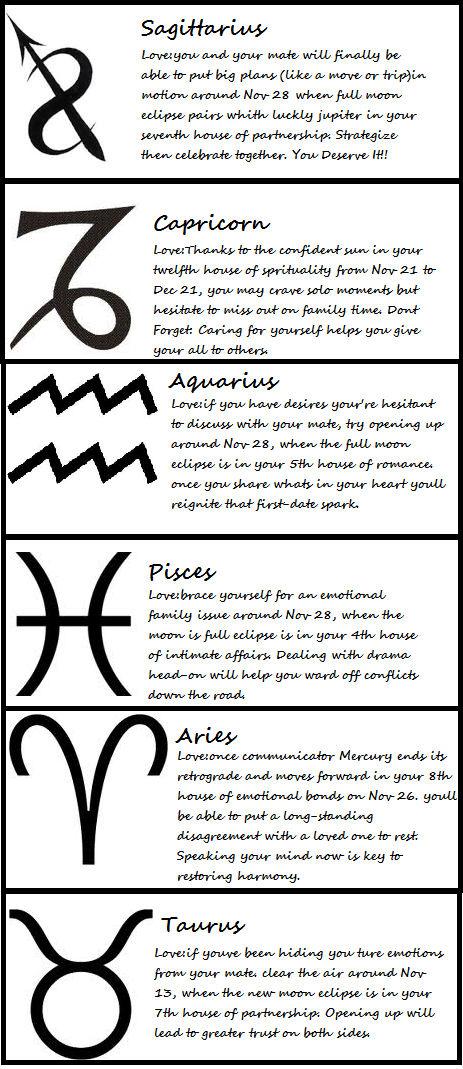 Horoscopes Sagittarius-Taurus 11-11-12 by ichigi111 on