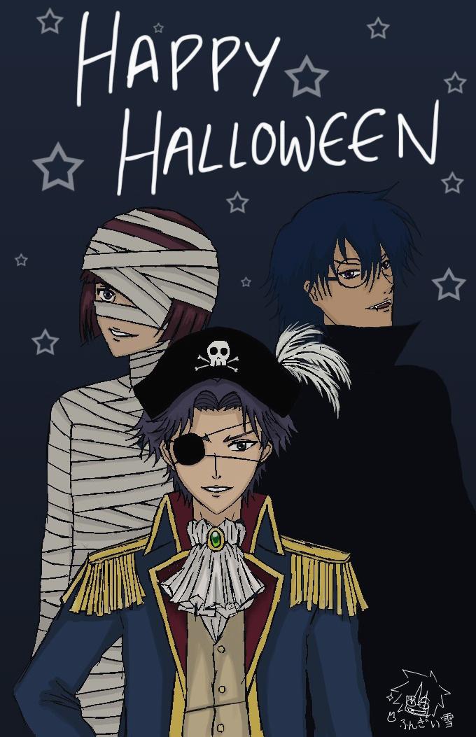 Hyoutei Halloween by FungiiYuki
