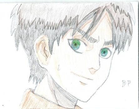 Quick Eren Coloured Sketch