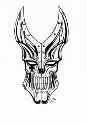 Requiem's mask by Hizoumie